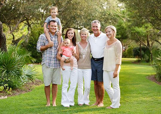 Large Families & Grandparents