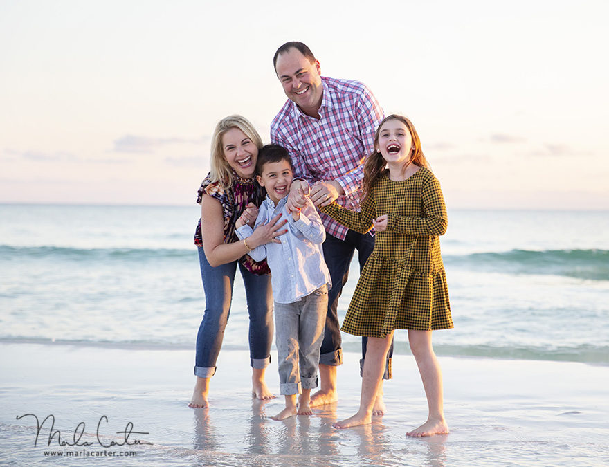 Planning a family photo shoot on your next beach vacation!