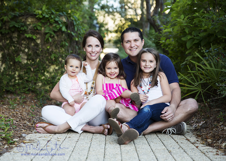 The Making of a Family Photo Session in Rosemary Beach