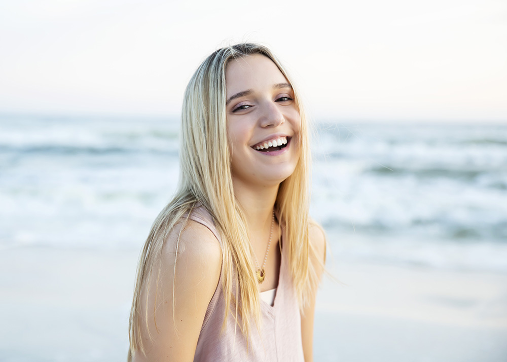 Senior Portrait photography in Rosemary Beach by Marla Carter